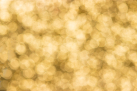 abstract defocused blurred gold background, christmas Stock Photo