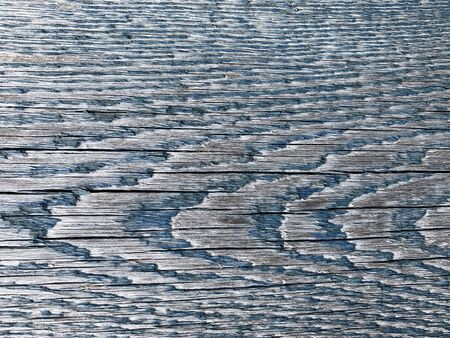 Old wooden background. Blue Color