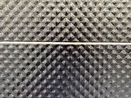 Black ceramic tile. Luxury tile