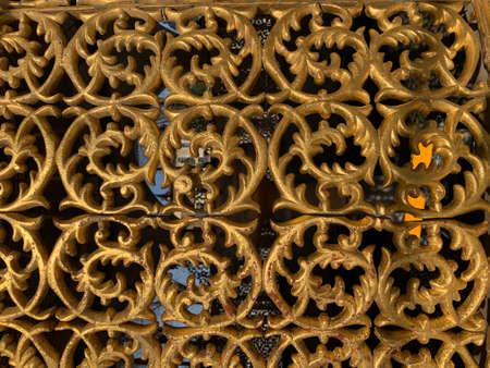 Luxury metal pattern. Eastern styled