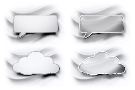 speech bubbles cloud