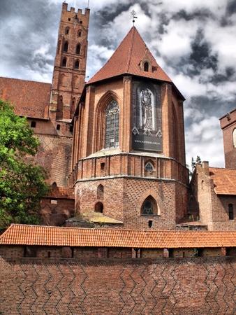 Castle in Malbork Stock Photo - 12553296