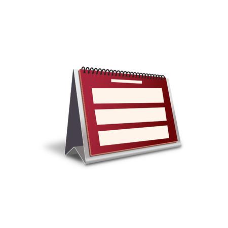 calender icon: Businessoffice set Illustration