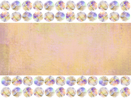 sandy brown: Grunge background among the colored watercolor spots. Abstract old vintage page paper texture in peach-orange, sandy brown colors. Can used for brochure ad, as a holiday layout, web template, wraps.