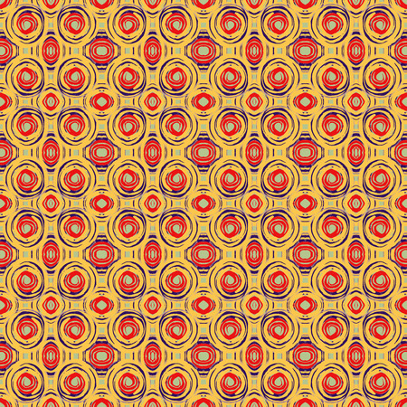 wallpaper rings: Seamless colorful ethnic pattern. Hand drawing watercolor circles. Art seamless pattern background with watercolor rings. Unusual shapes. Fabric design. Can used for wallpaper, wrapping paper or cover