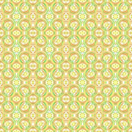 Seamless colorful ethnic pattern. Hand drawing watercolor circles. Art seamless pattern background. Unusual shapes. Fabric design. Can used for wallpaper, wrapping paper or cover.