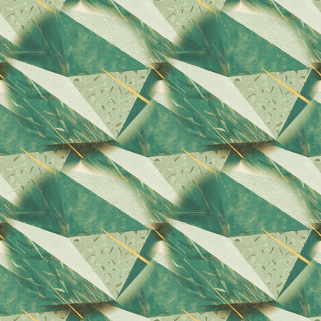 rumpled: Abstract rumpled triangular background texture. Seamless polygonal pattern for your design. Creative template. Polygons pattern repeated. Polygons pattern triangular. Stock Photo