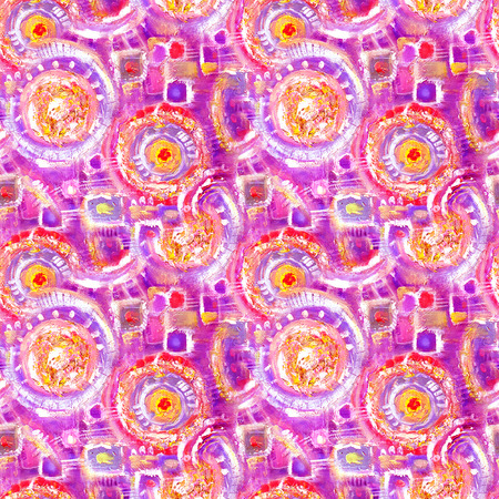 Abstract seamless acrylic ornamental pattern. Seamless texture in impressionism style for web, print, wraps, fabric, textile, website, invitation card background, summer fall fashion or your design.