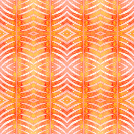 Abstract shapes seamless pattern. Repeat geometric background. Textured grunge geometric background for wallpaper, gift paper, fabric print, furniture. Regularly repeating tiles with arched rhombuses. Stock Photo