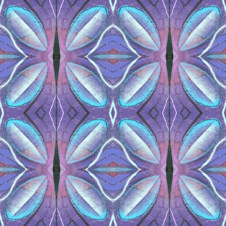 secession: Kaleidoscopic abstract seamless pattern. Modern stylish texture. Textile fabric print. Wrapping paper. Abstract continuous ornament for design and fashion.