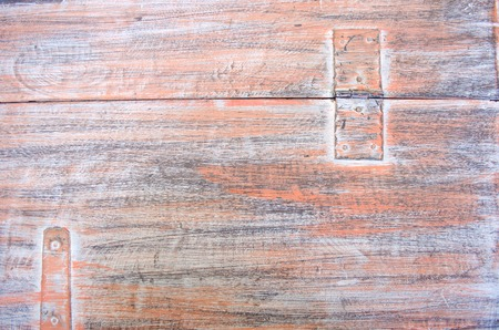 painted wood: Orange painted wood texture background. Shabby chic style. Old rural wooden wall, detailed plank photo texture.