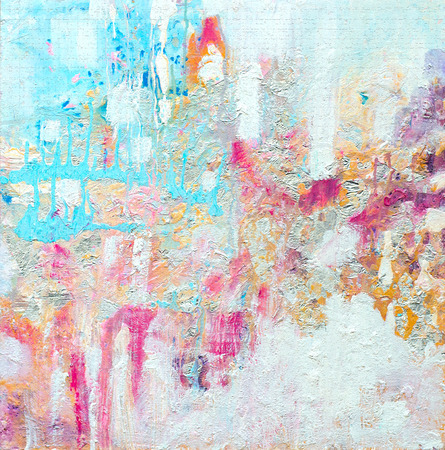 Abstract acrylic painting. Contemporary art. Texture for various background. High resolution photo.