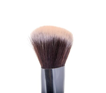 Glamour brush for makeup isolated on the white 版權商用圖片