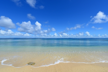 blandness: The beautiful sea and summer sky of Okinawa