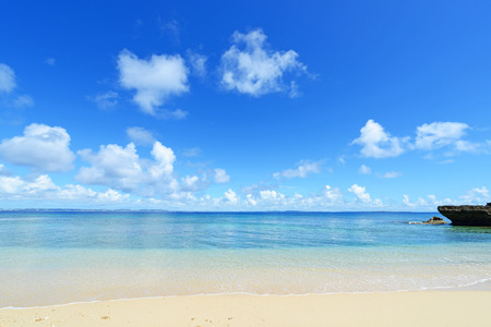 blandness: Blue sky and beautiful beach