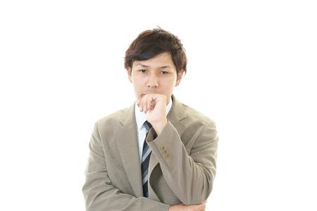 heartbreak issues: Frustrated Businessman
