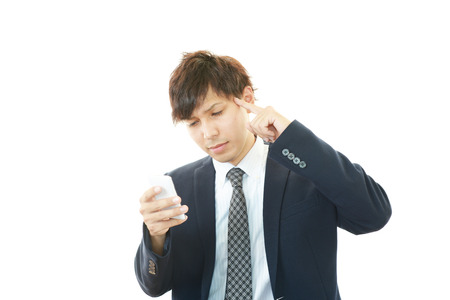 Frustrated Businessman photo