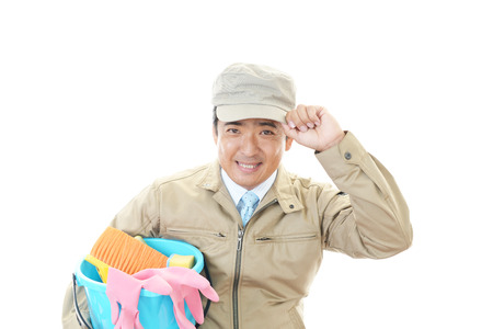 suppliers: Men of cleaning suppliers