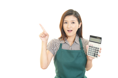 stres: Housewife to think Stock Photo
