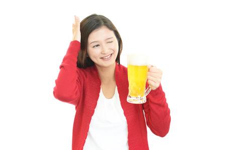 drank: Women who drank too much liquor
