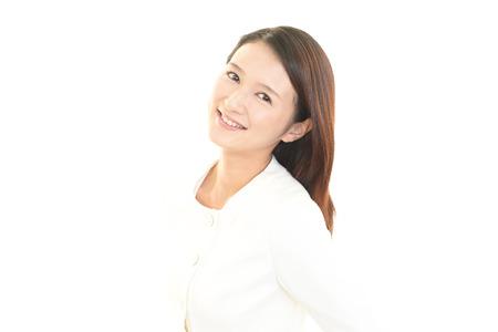 to rejoice: Woman who rejoice Stock Photo