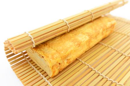 Japans stijl gebakken ei Stockfoto