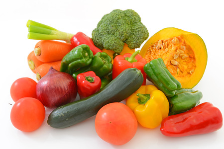 Fresh fruits and vegetables