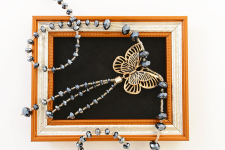 butterflies for decorations: Fashionable accessories Stock Photo