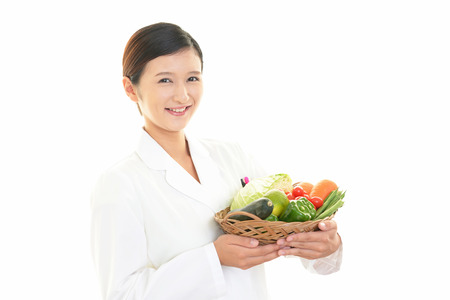 The dietician who smiles photo