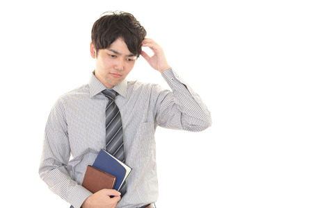 anguish: The anguish to businessman