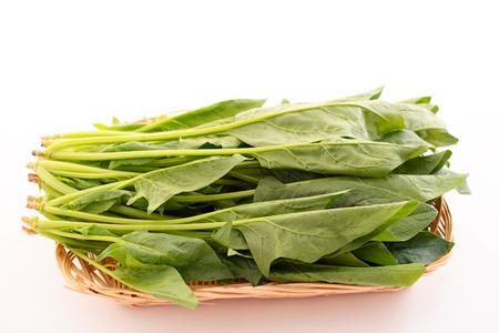 fresh spinach: Fresh spinach Stock Photo