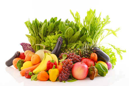 vitamin store: Fresh fruits and vegetables