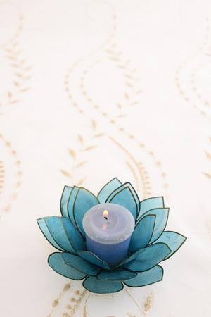 aroma: Aroma candle Stock Photo