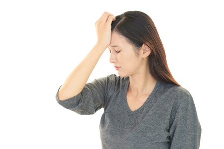 neurosis: Tired woman