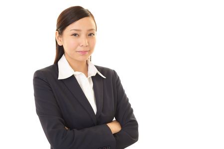 liveliness: Portrait of a young business woman