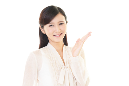 featured: Smiling business woman