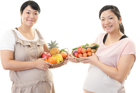 Schwangere Frauen Standard-Bild