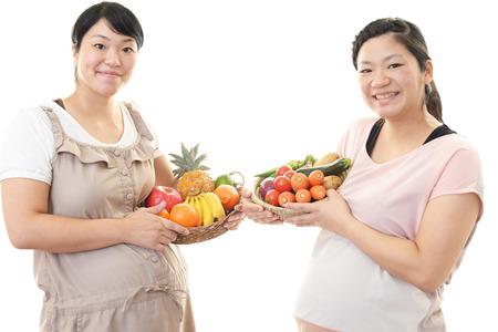 Zwangere vrouwen Stockfoto