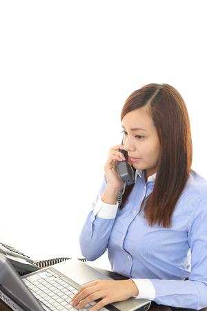 通信: Portrait of a young business woman