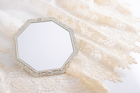 to mirror: Beautiful Mirror Stock Photo