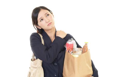 피곤 아시아 여자