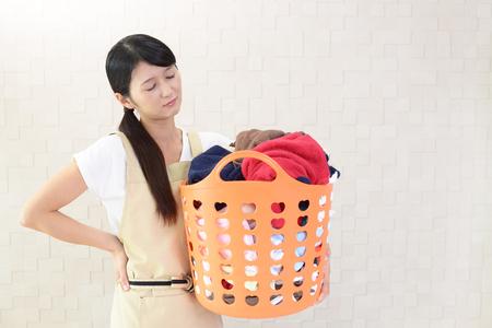 Vermoeide huisvrouw