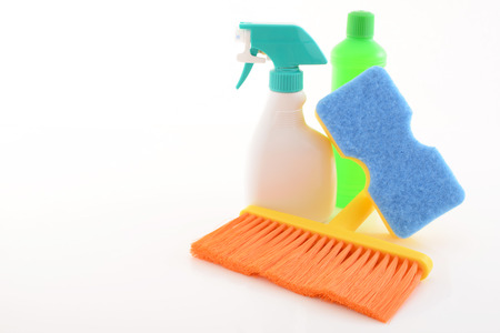 sanitizing: Cleaning products