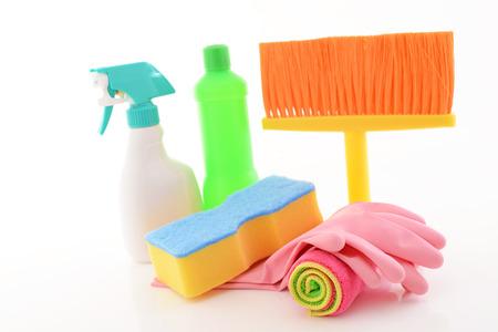 製品の洗浄 写真素材