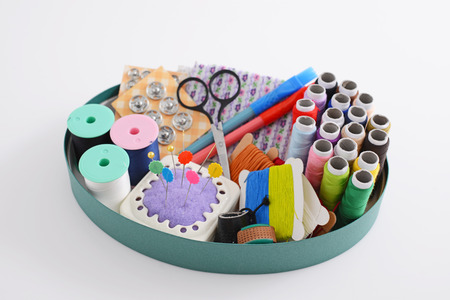 sewing box: Sewing box