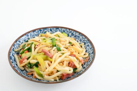 enhancer: Okinawa soba chanpuru Stock Photo