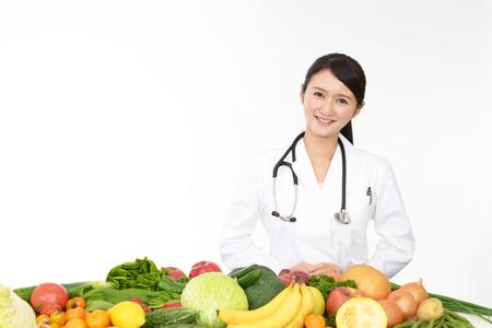 public welfare: Portrait of a female doctor