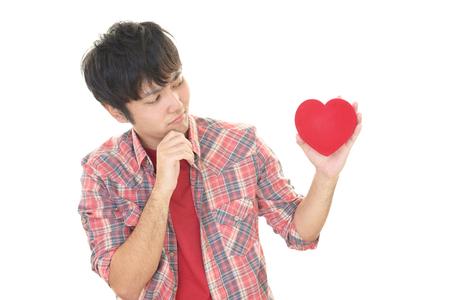 heartbreak: Man who heartbreak Stock Photo
