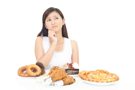 Woman on diet