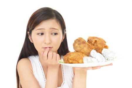 Vrouw op dieet
